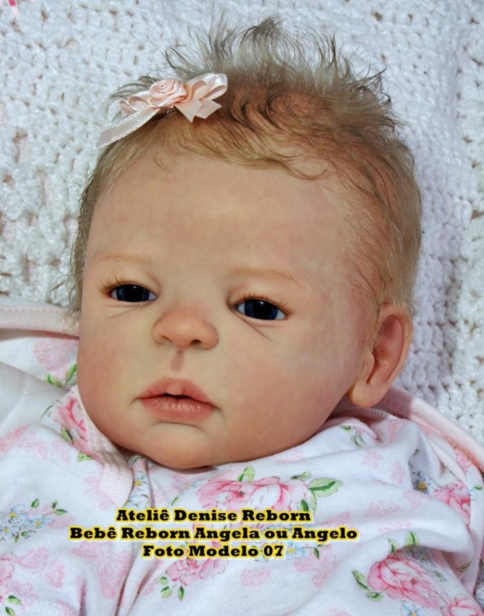 c116018935 Boneca Bebê Reborn Angela ou Angelo parece bebe de verdade no Elo7 ...