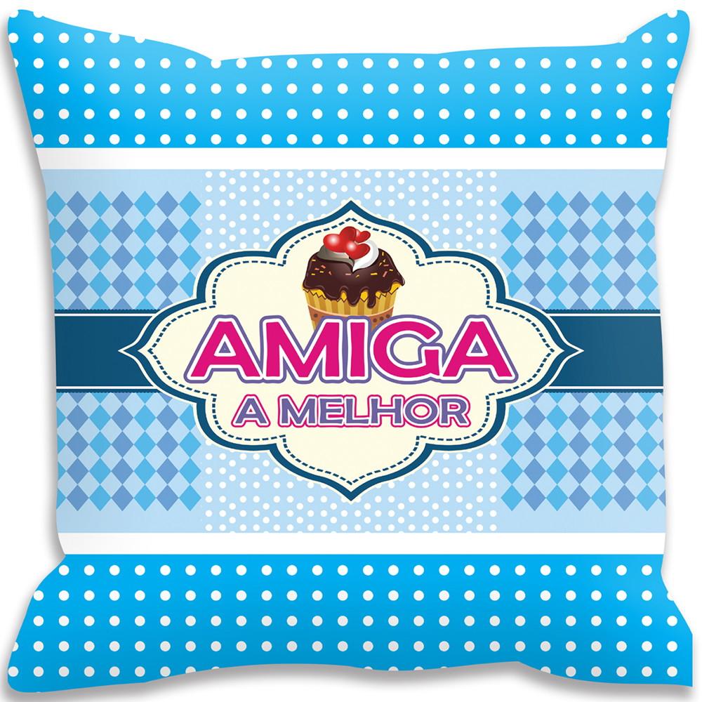 1e093fc5819fe4 Capa de Almofada Amiga A Melhor !