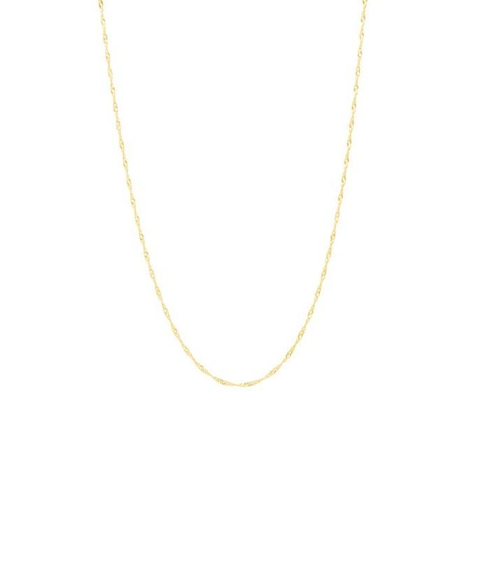 Corrente Singapura 60cm - Ouro 18K Amarelo no Elo7   Fotopingente ... 8b8d1fe0d3