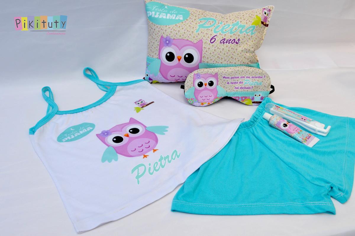 3cad83e3a Kit festa do Pijama + Pijama Baby Doll no Elo7