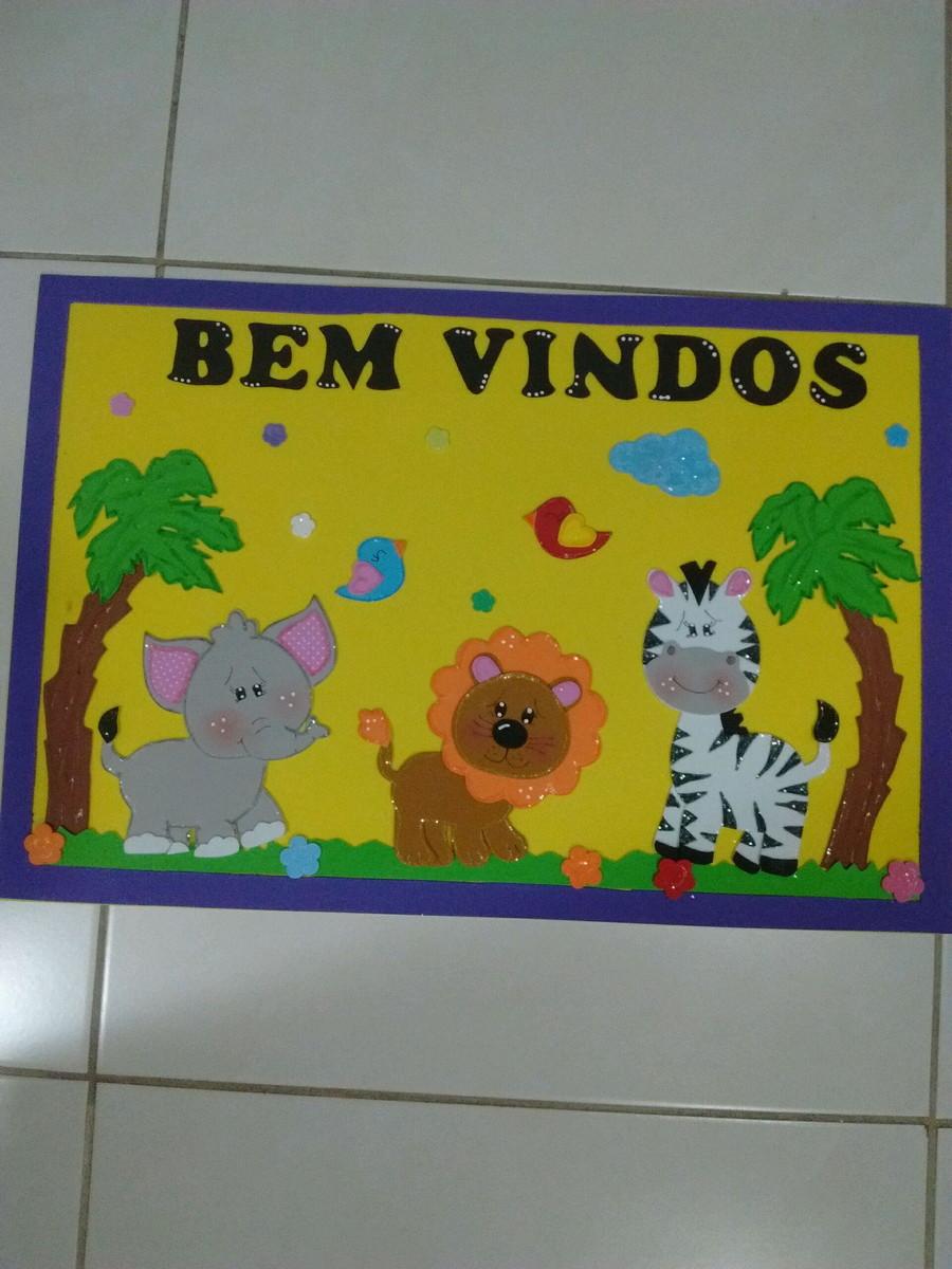 Kit Decoracao Sala De Aula Safari Baby Artes Da Luizinha Elo7 -> Decoracao Sala De Artes