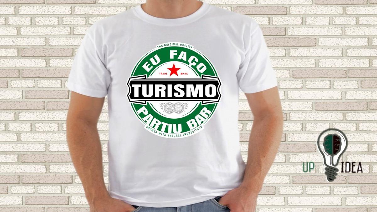 6294c03163d4 camiseta Turismo (curso) no Elo7 | Ousadia 16 (8C393F)