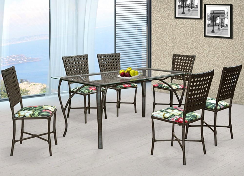 Conjunto Sala De Jantar Mesa 6 Cadeiras No Elo7 Vs Fast Shop 8c3946