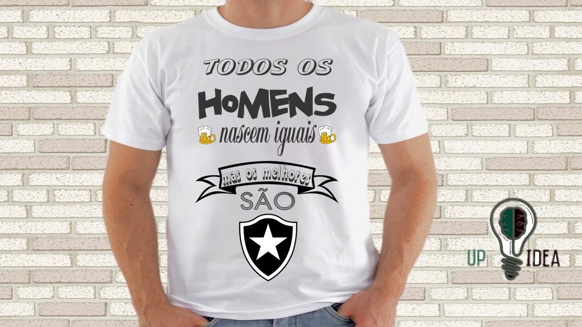 1af688ca11 camiseta botafogo todos os homens nascem no Elo7