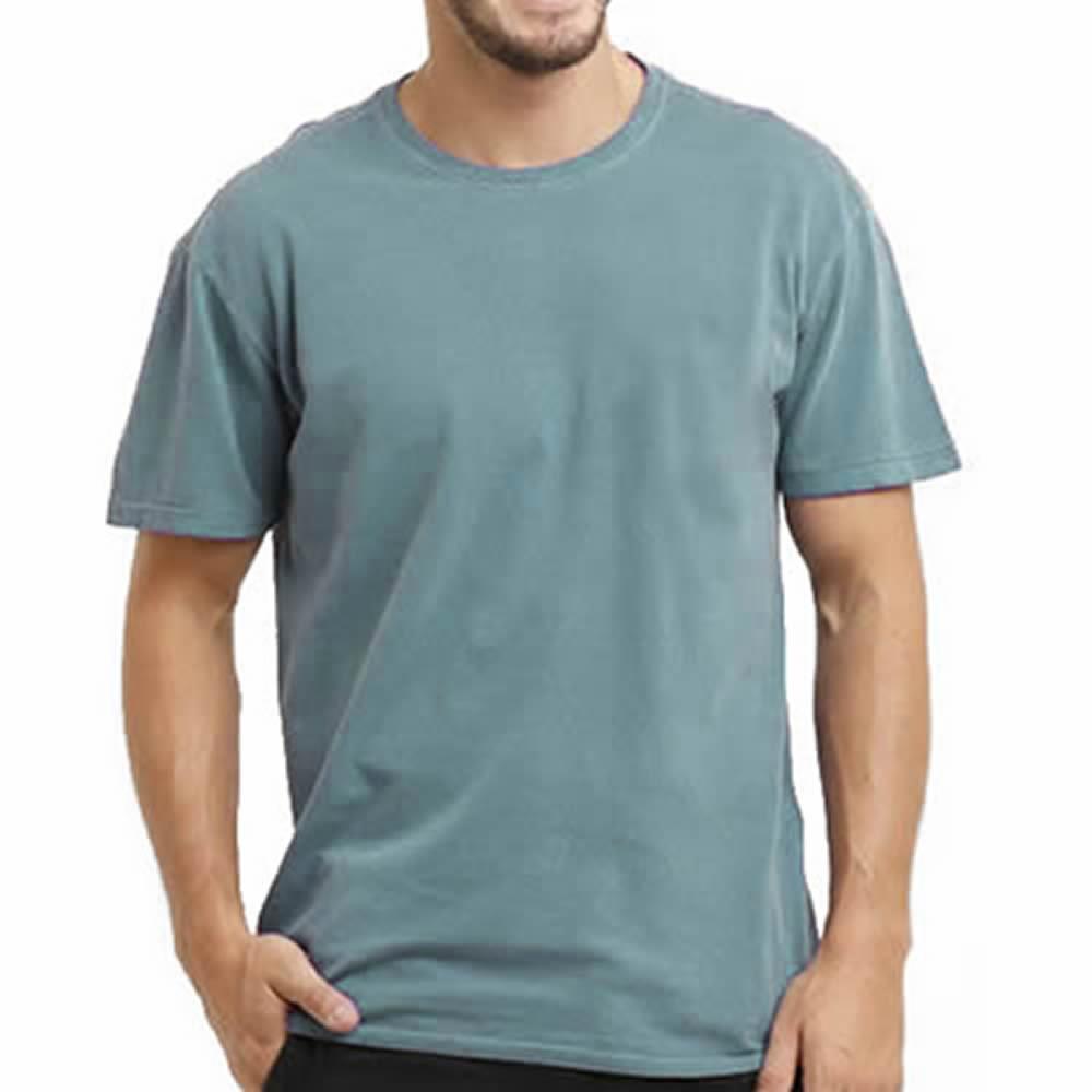 72c1587036 Camiseta Lisa Estonada 100% Algodão no Elo7