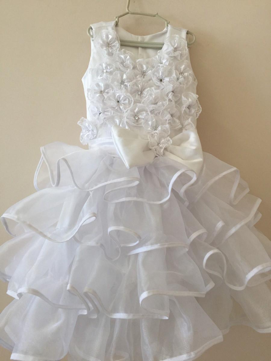 Vestido Noiva Caipira Tule Em Babados No Elo7 Dalili Store 53e98e