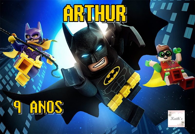 Papel arroz batman lego no elo7 kath s 8cd3e1 for Codigos de lego batman
