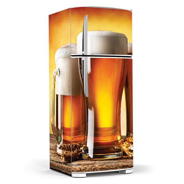 Armario De Cozinha Itatiaia ~ Envelopamento Geladeira Bebidas Cervejas 6Formas Adesivos Decorativos Elo7
