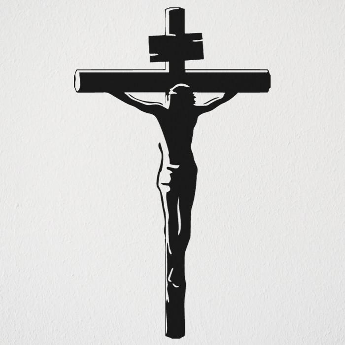 5c86c16ec Adesivo Jesus cristo cruz Evangélico no Elo7