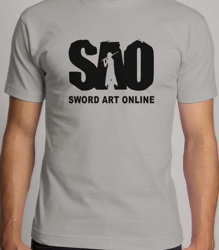 3bd6db34c Camiseta SAO - Sword Art Online no Elo7