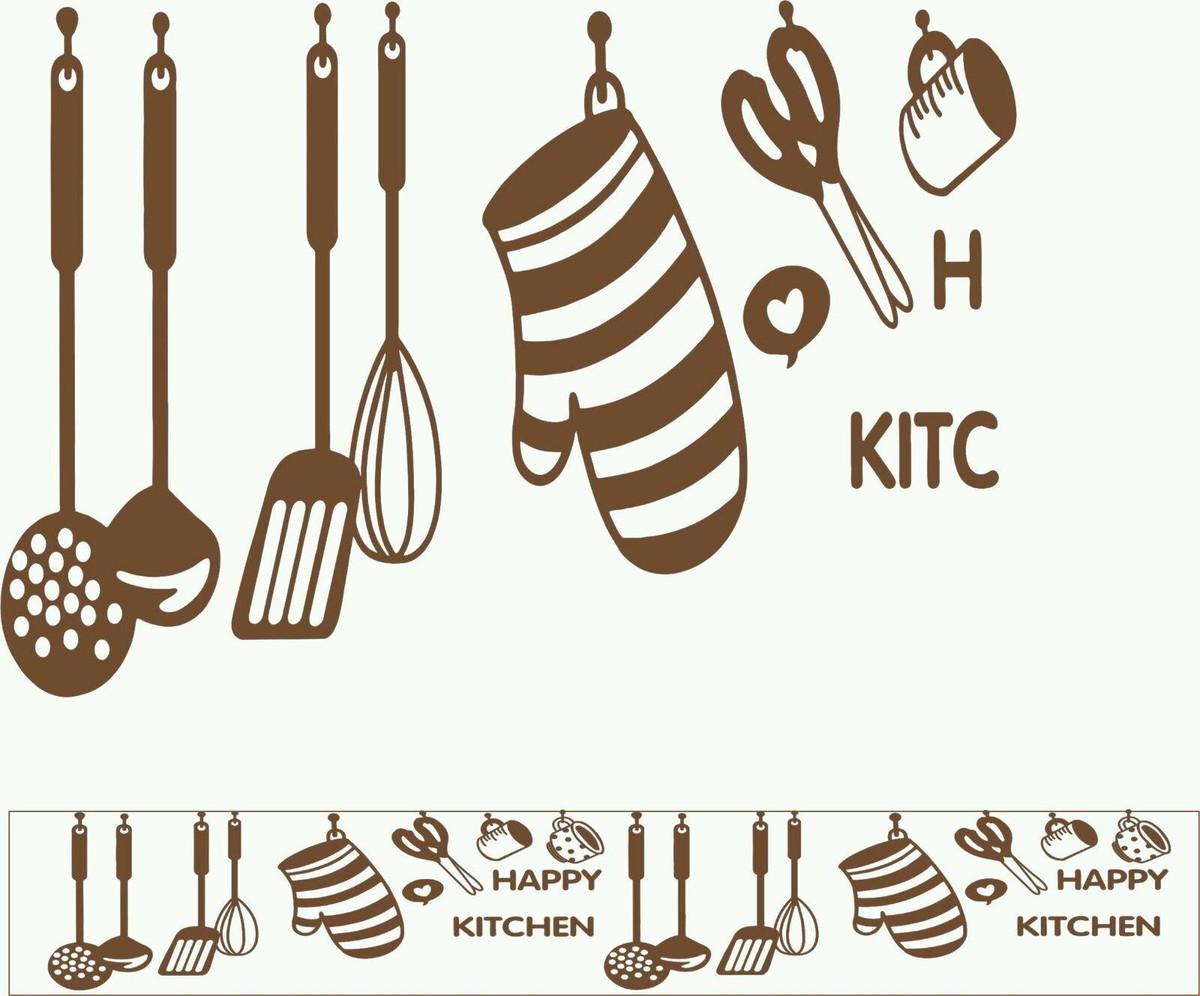 Faixa Adesiva Utens Lios De Cozinha Toca Do Design Elo7 ~ Desenho Utensílios De Cozinha