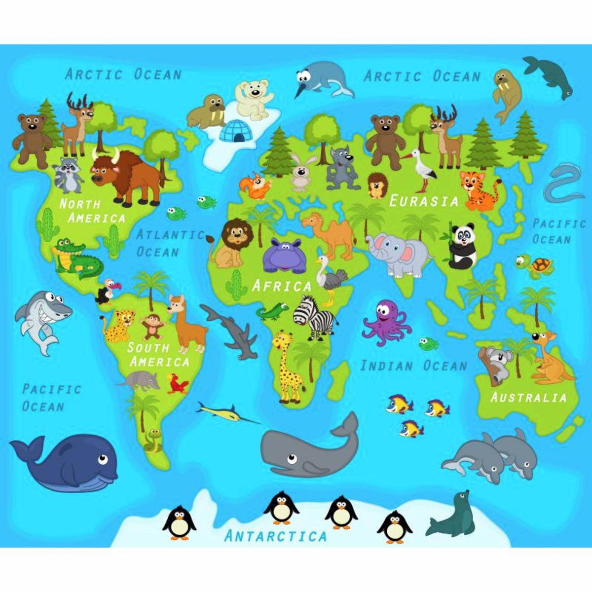 Artesanato Garrafa Pet Para O Natal ~ Adesivo Infantil Mapa Mundo Divertido no Elo7 Adesivos Dicolar (8D999C)