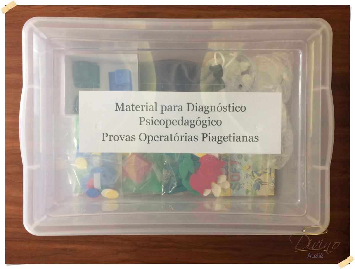48931dc6529 Caixa Piagetiana - Provas Operatórias no Elo7