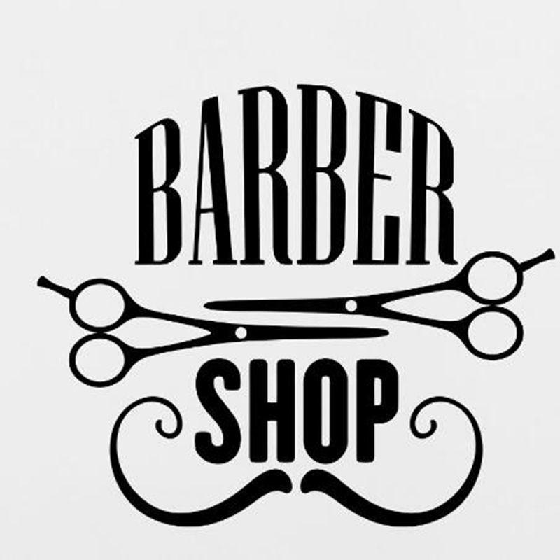 Armario Ikea Aneboda ~ Adesivo de Parede Barber Shop no Elo7 Toca do Design (8E10DA)