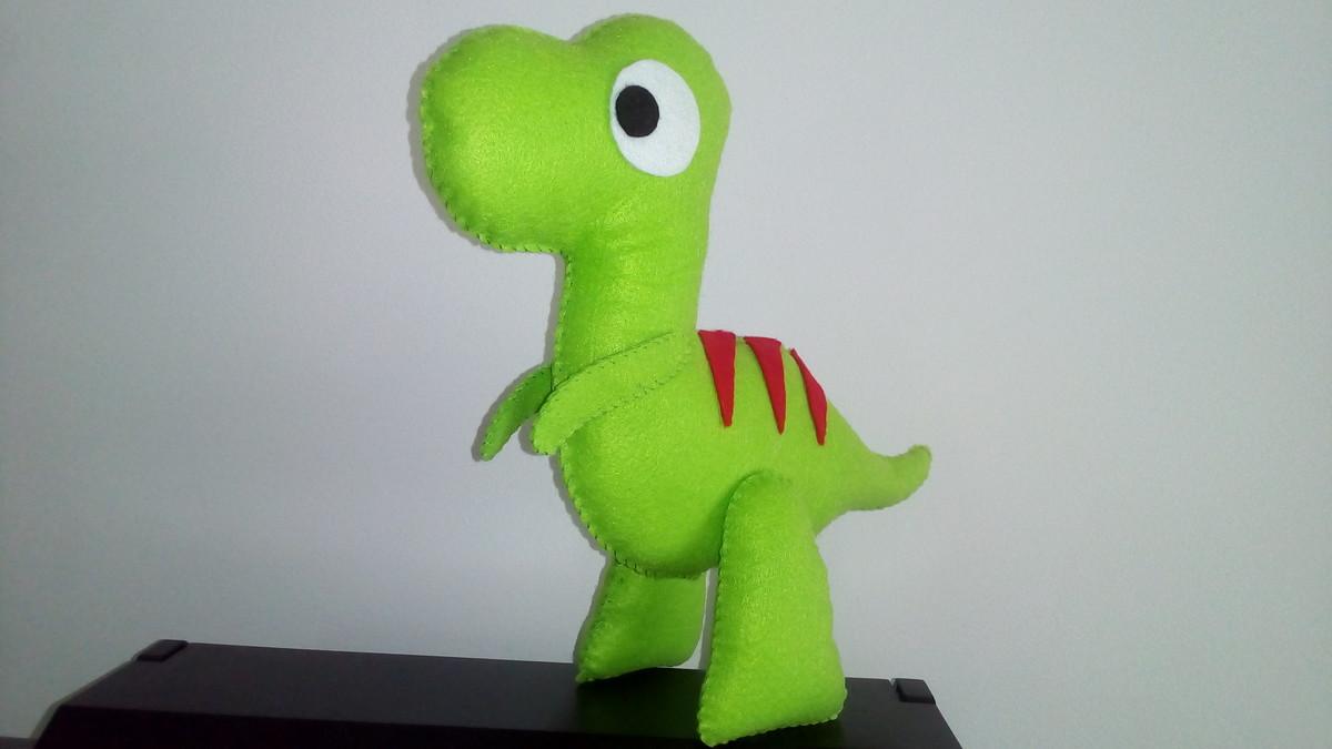 Muito Molde do Dinossauro 3D no Elo7 | Brilha Lê (8E15A9) OL84