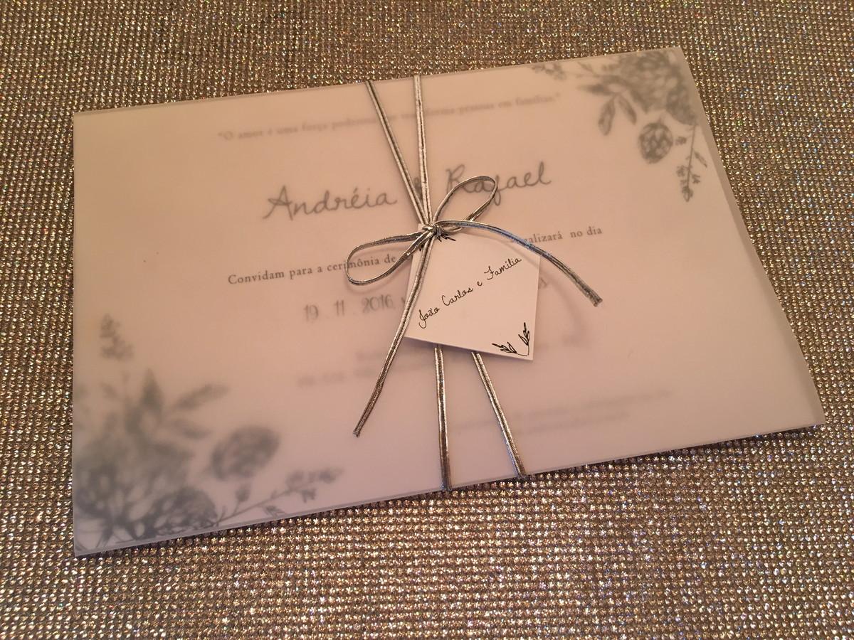 Convite Andréia E Rafael No Elo7 Camila Garcia Convites 8e20bf