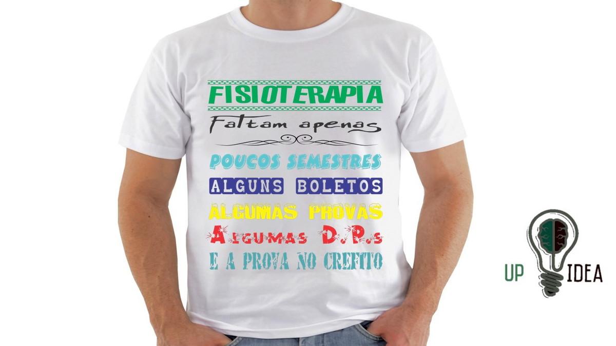eae1bd1b51 Camiseta de Fisioterapia BLUSA UNP t