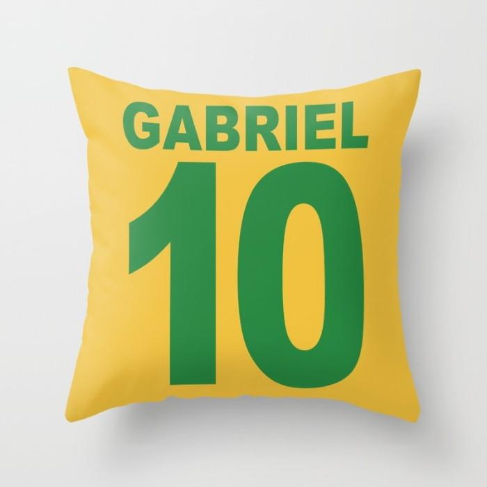 ba3044501b Capa Almofada Camisa Brasil Personalizada 40x40 no Elo7