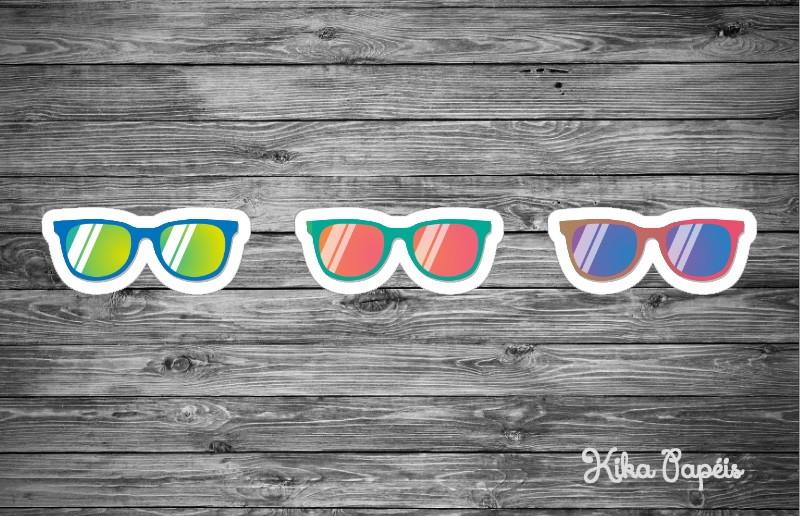2dd57e088 Aplique Óculos de Sol 7 cm no Elo7   Kika Papéis (8E6000)
