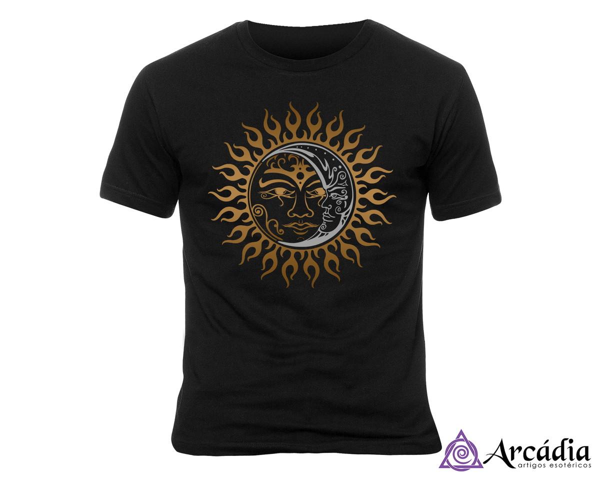 352b76430 Zoom · Camiseta Sol   Lua (P