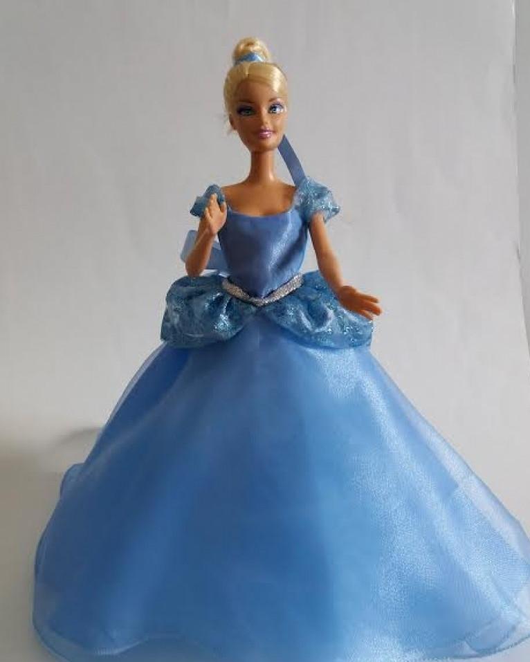 vestido cinderela para bonecas no elo7 loja da nÊ 339508