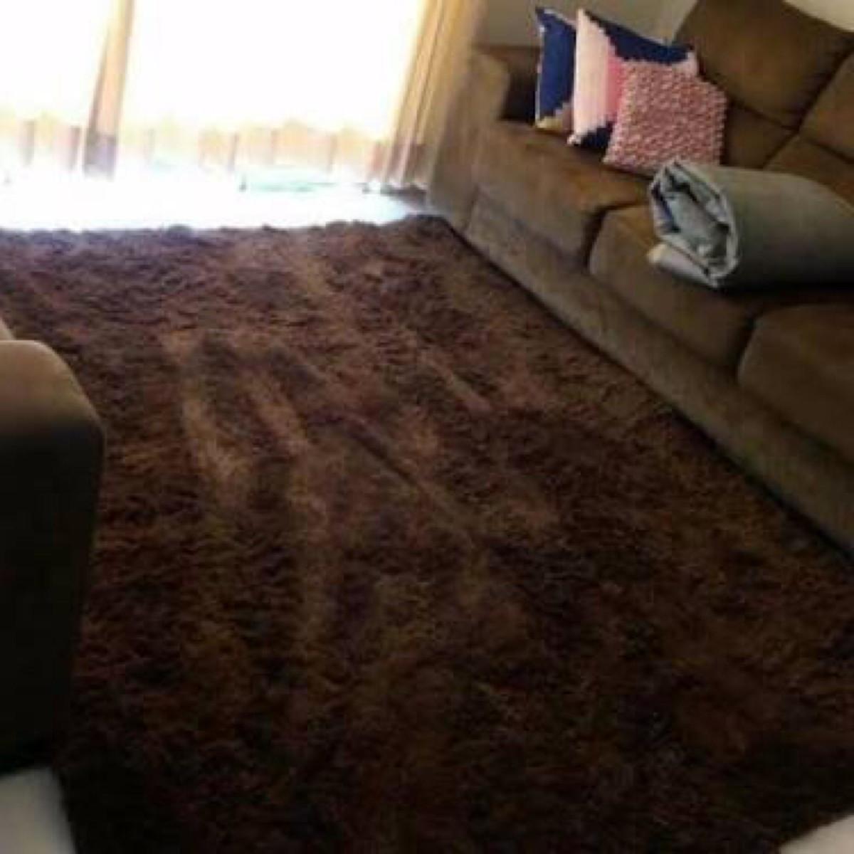 Tapete felpudo marrom caf 1 75x2 00 m tapetes design for Esstisch 2 00 m
