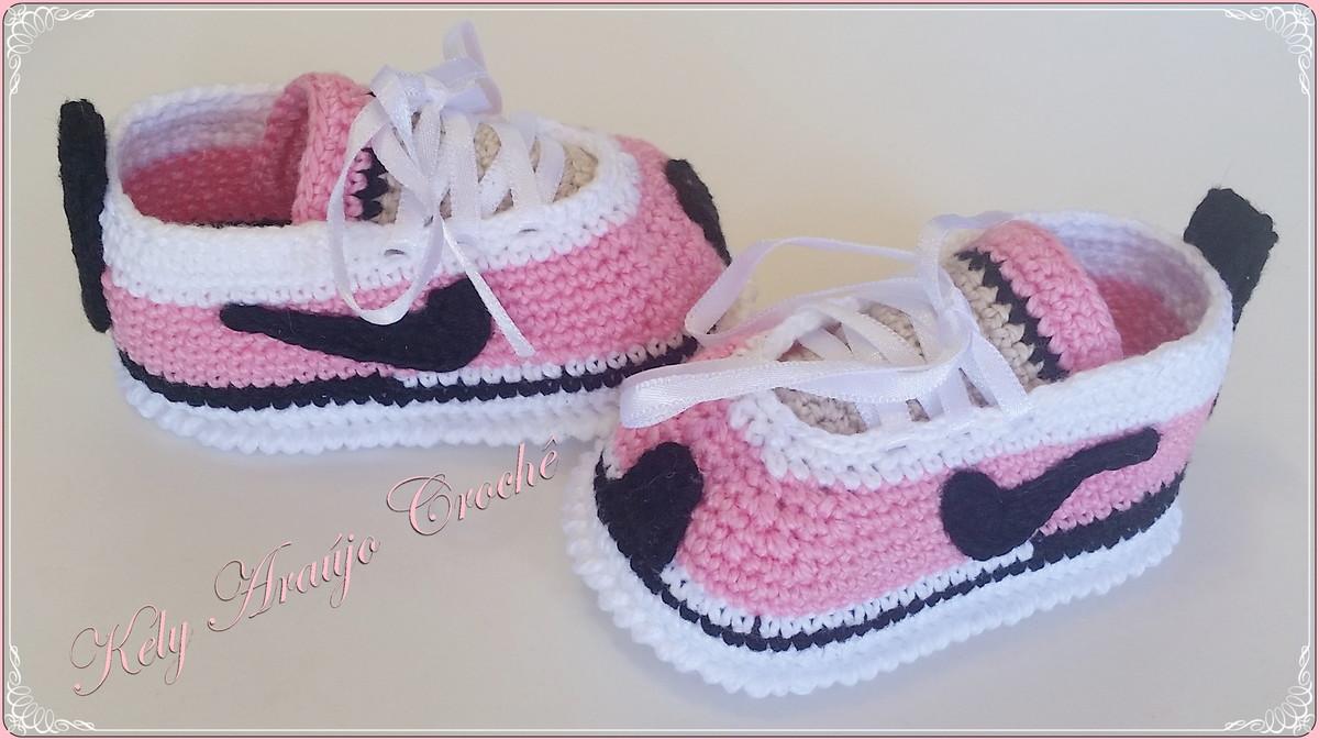 60db141b0 Tênis Nike Baby Menina no Elo7