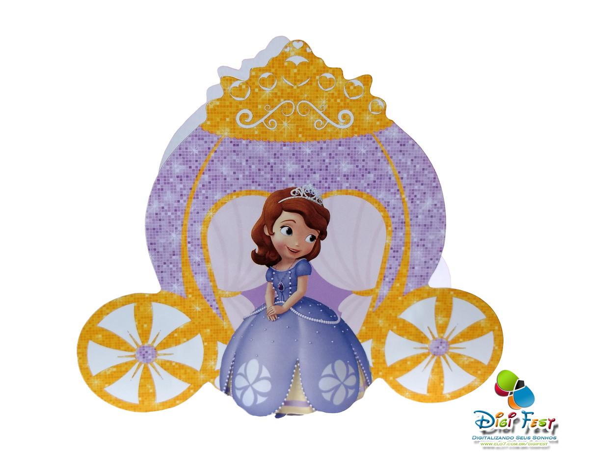Carruagem Princesa Sofia - Silhouette No Elo7
