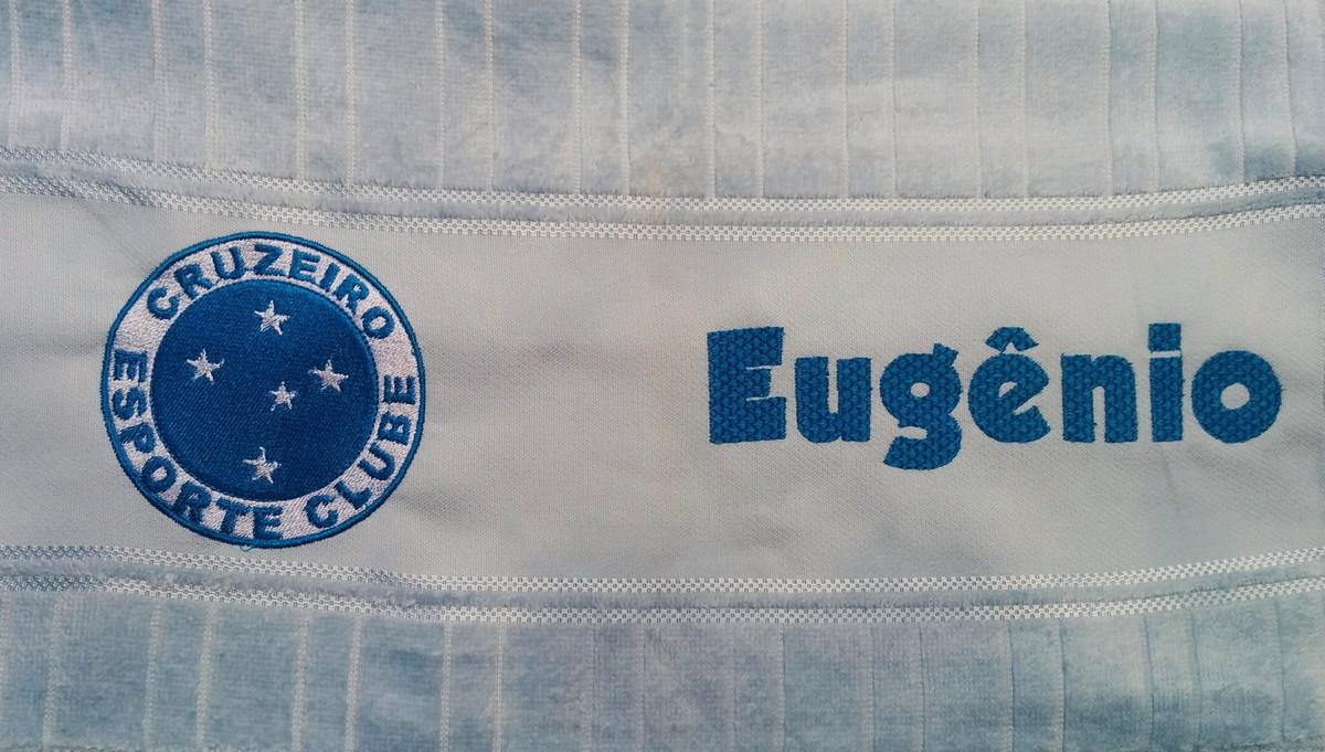 d15d01c7c654e Toalha de rosto bordada futebol Cruzeiro no Elo7 | Bordados da Ju ...