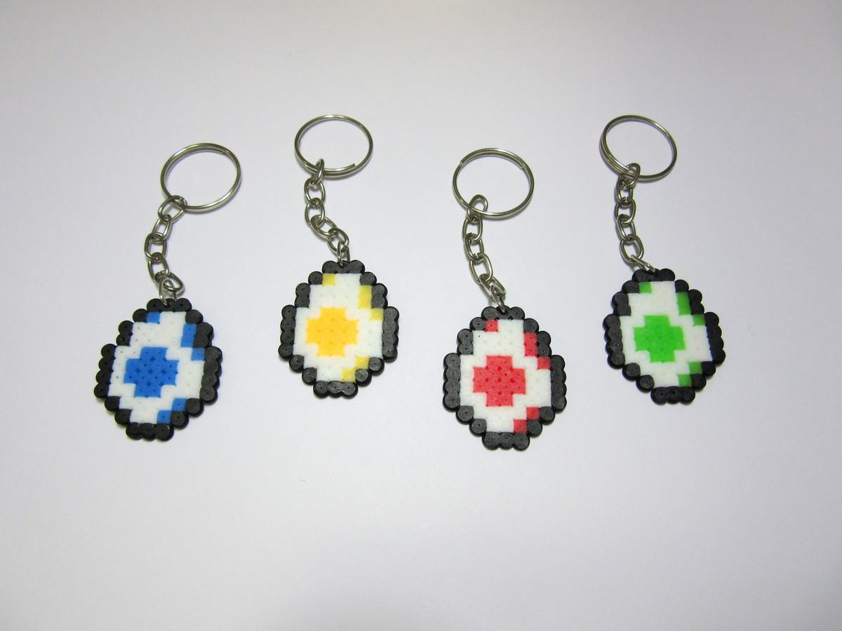 9d1cc115e4f2b Ovinho do Yoshi em Pixel Art no Elo7   Artesanatos e afins (8F4807)