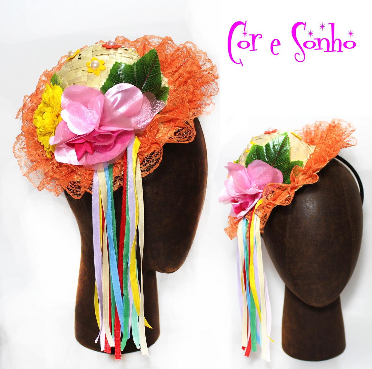 Chapéu decorado Quadrilha Festa Junina no Elo7  8bb76c5fb8d