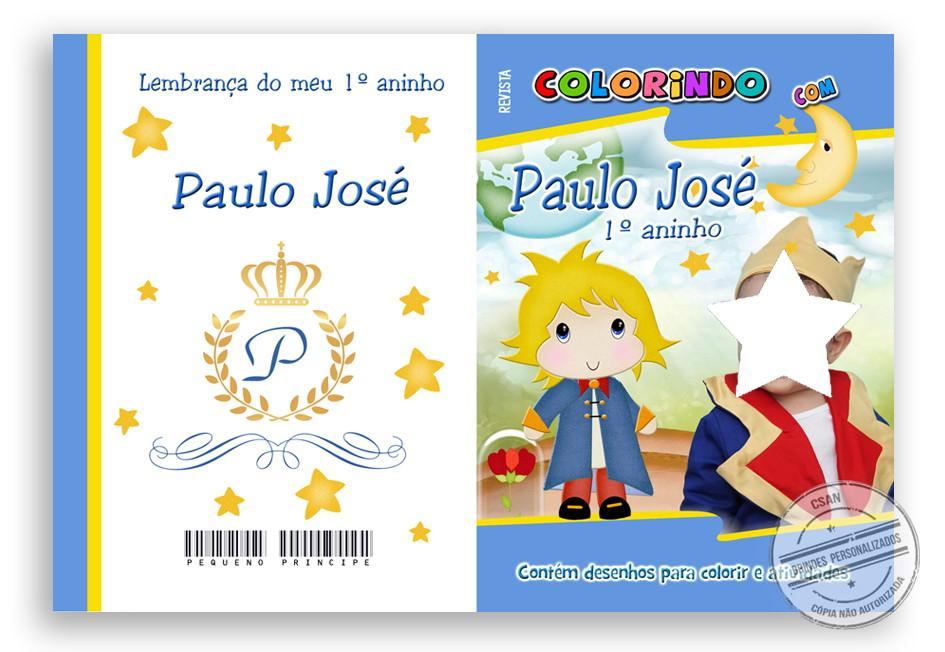 Desenhos Para Colorir Principe: Revista De Colorir Pequeno Príncipe No Elo7