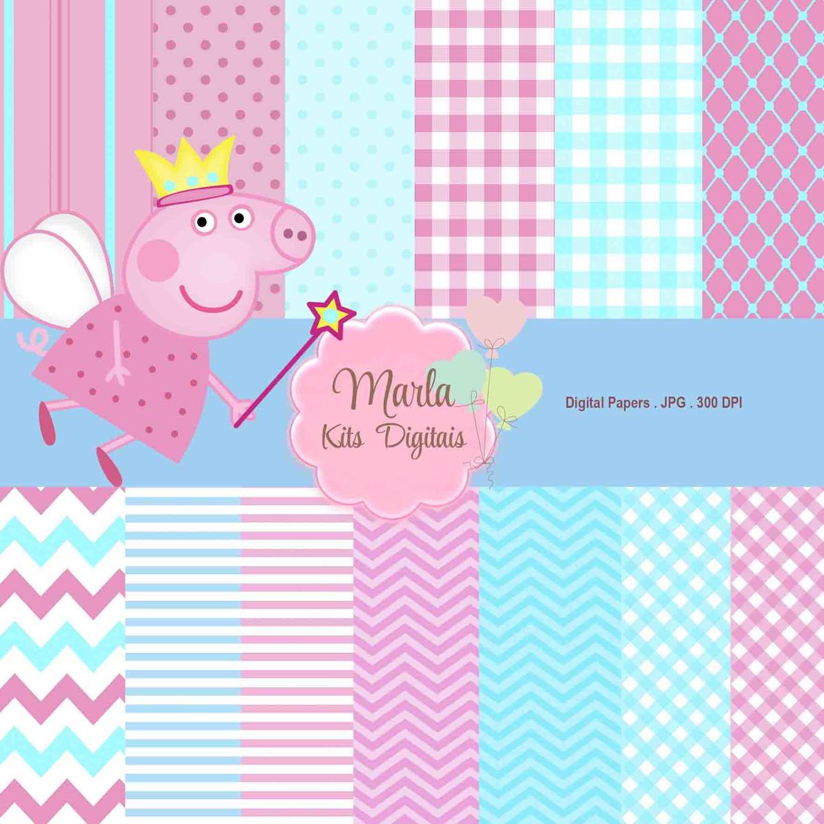 Zoom · Papel Digital - Peppa Pig
