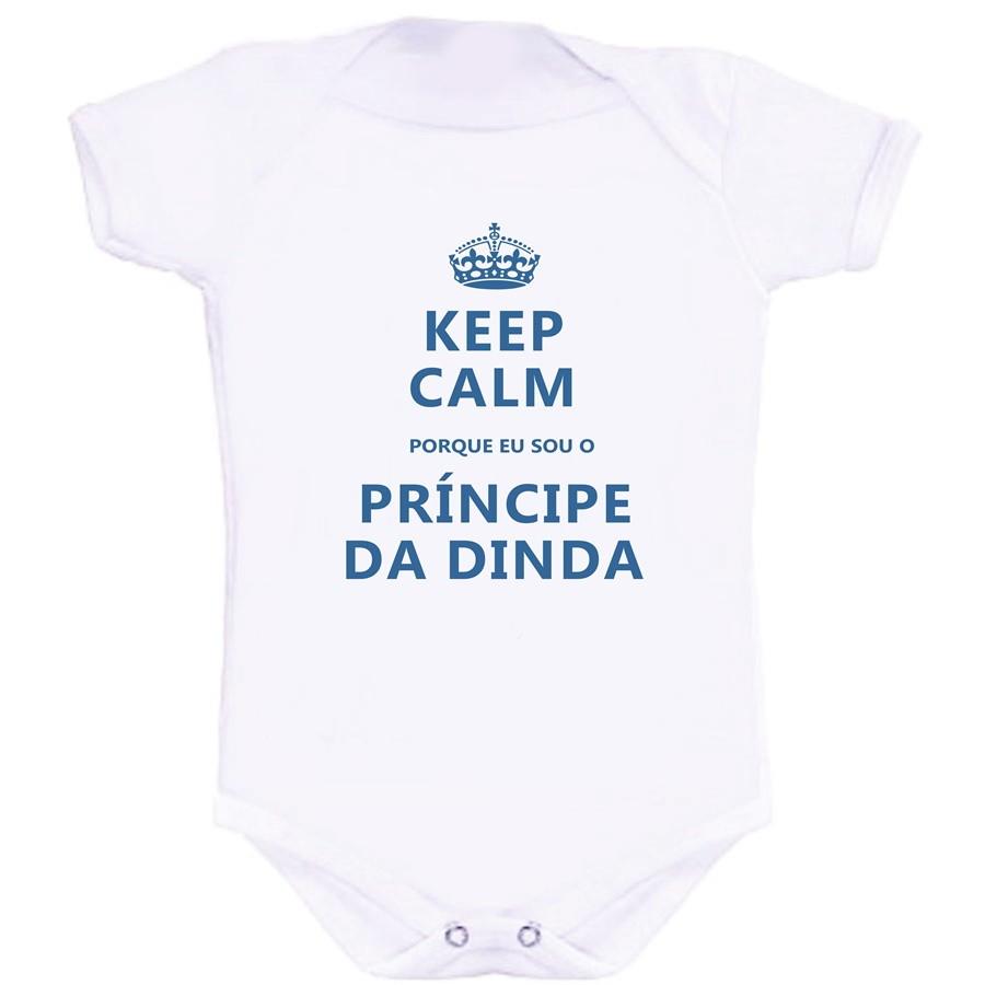 adc457ceed Body Keep Calm Sou o Príncipe da Dinda no Elo7