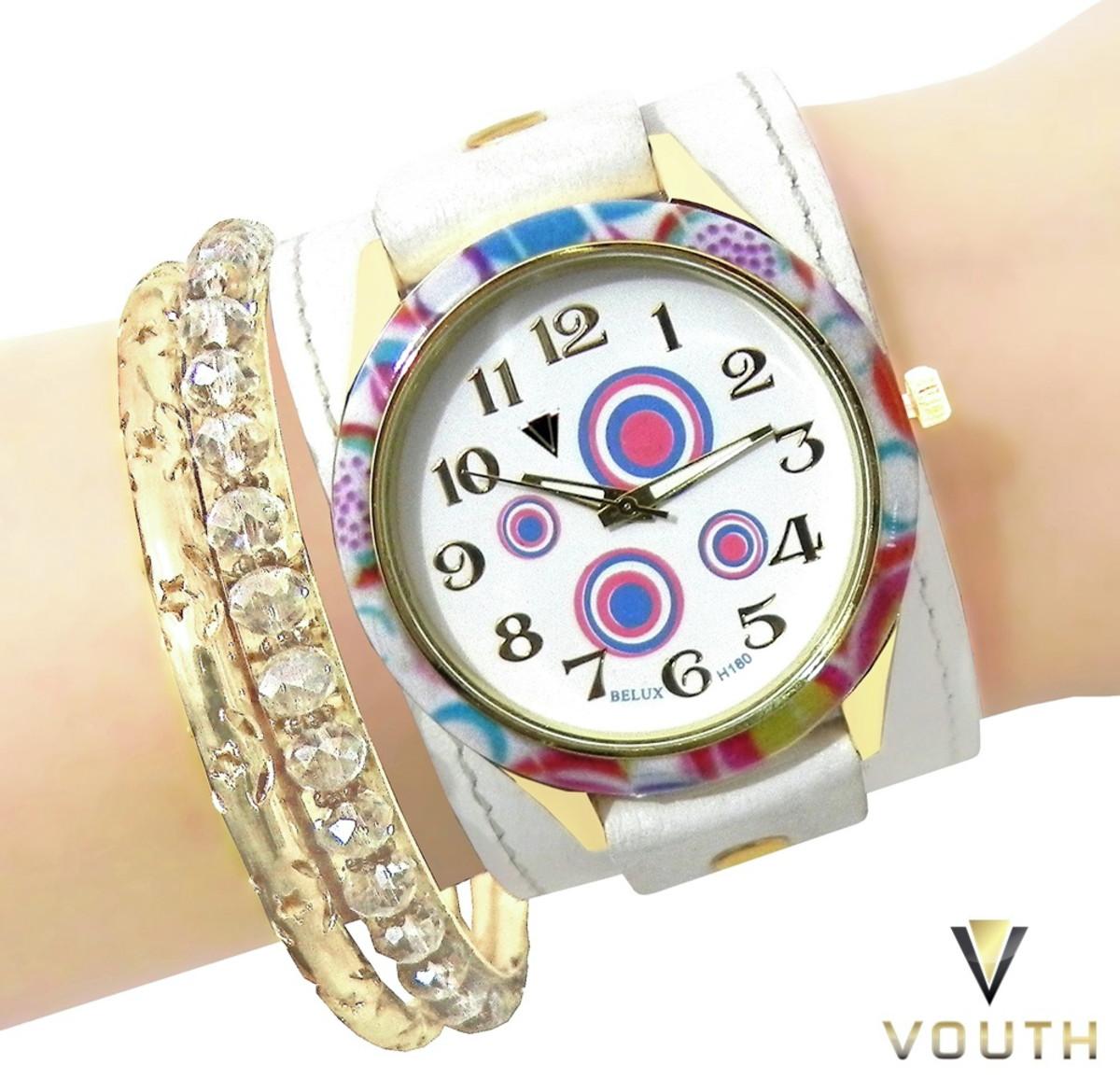 0fe7dbf515f Relógio Bracelete Feminino no Elo7