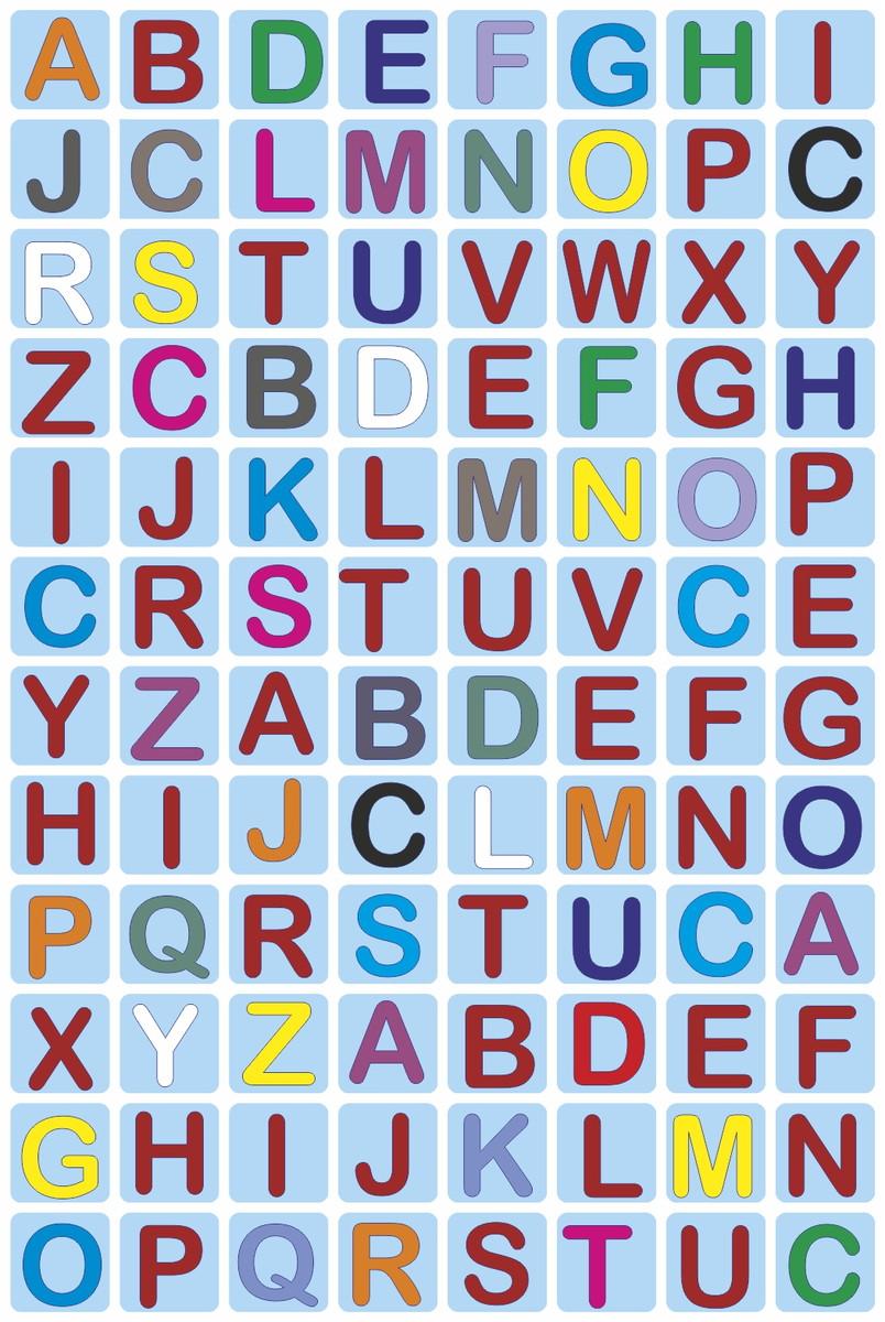 Alfabeto Magnetico Colorido No Elo7 Puro Design 90bd4a