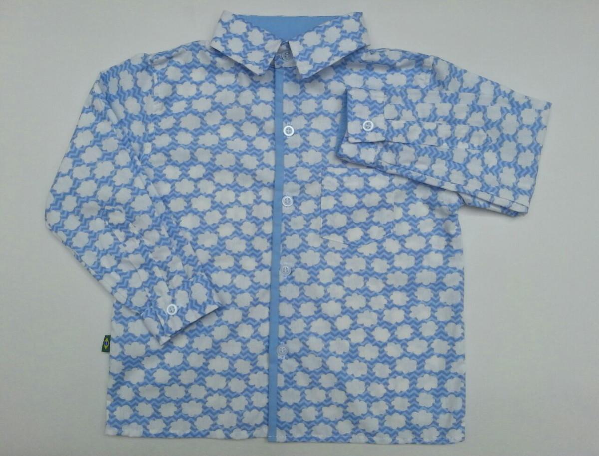 69f9147ba Camisa social infantil manga longa no Elo7