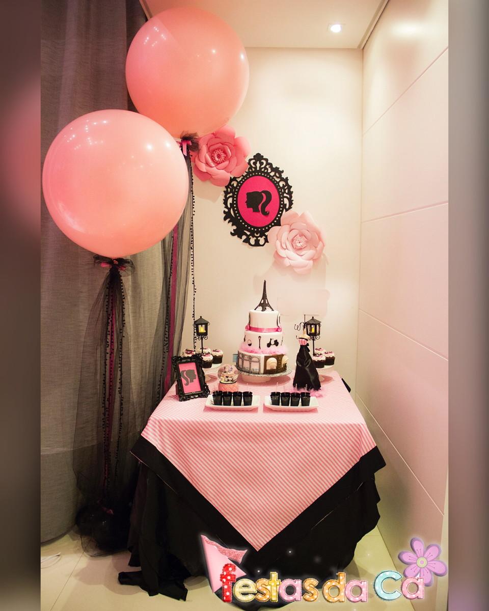 Favoritos Decoração de Mesa Paris Rosa ou Tiffany no Elo7 | Festas da Ca  FC68