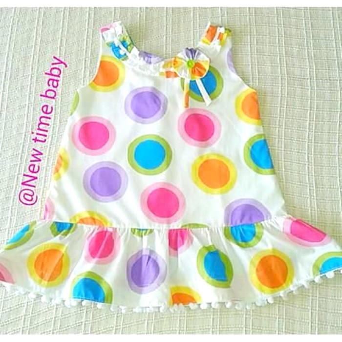 Vestido Bebê Estampado