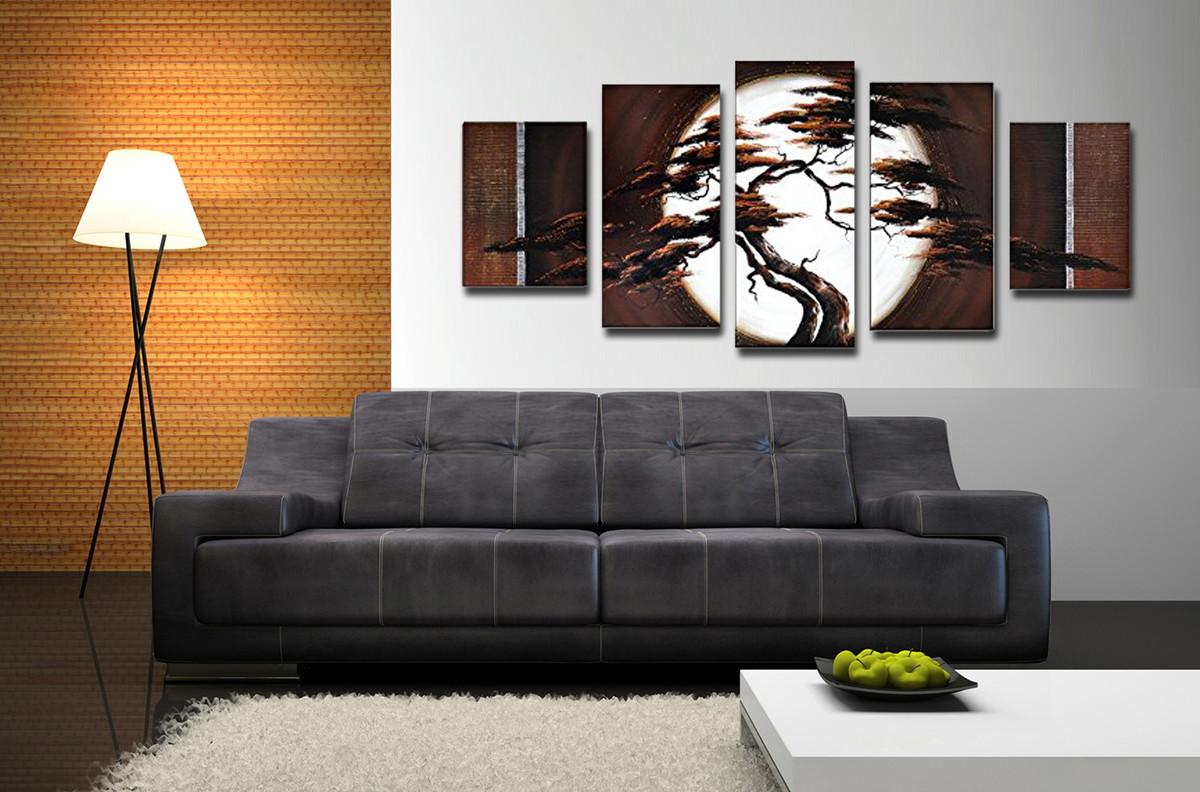 quadro noite de lua art gallery elo7. Black Bedroom Furniture Sets. Home Design Ideas