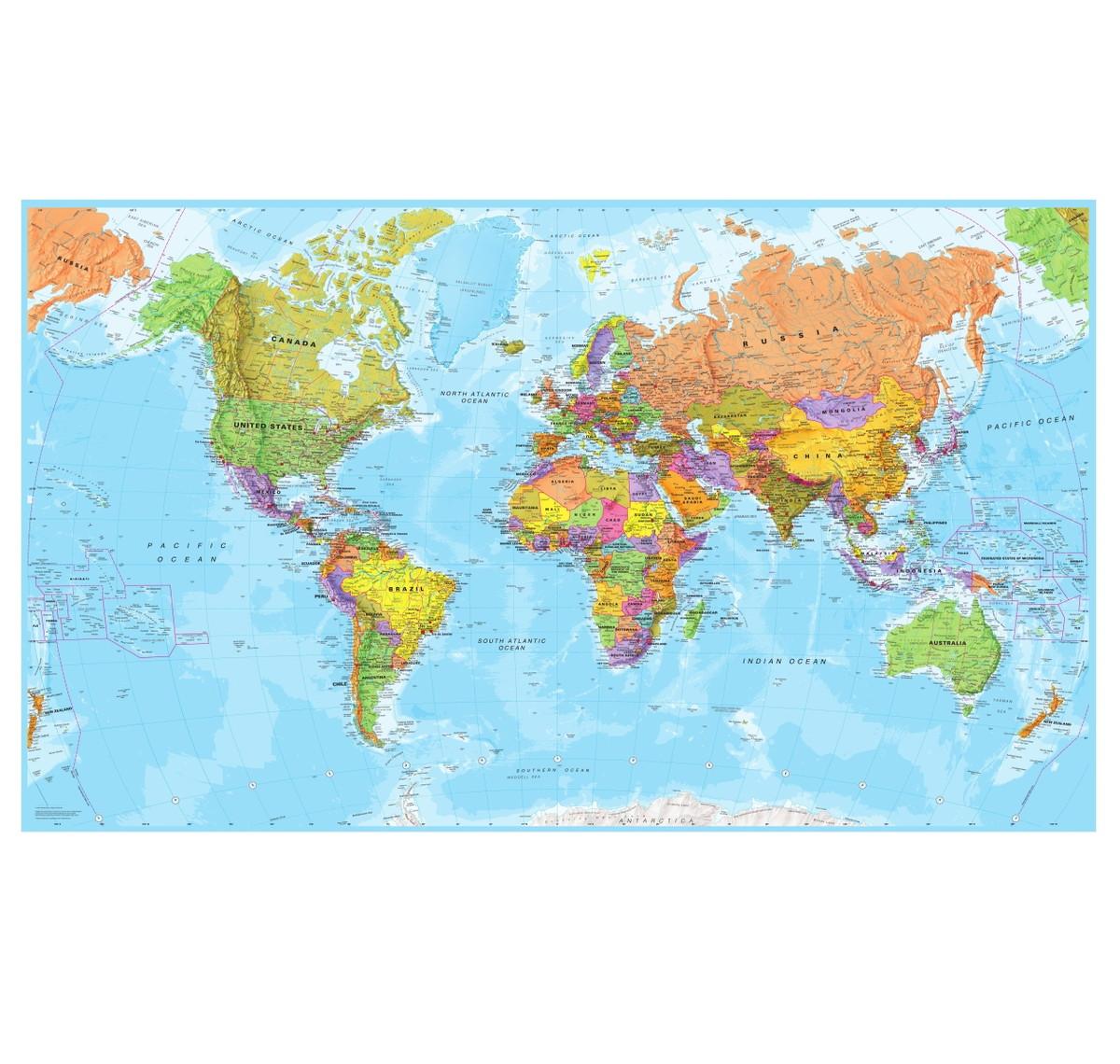 Adesivo Mapa Mundi De Parede M62  QuartinhoDecorado  Elo7