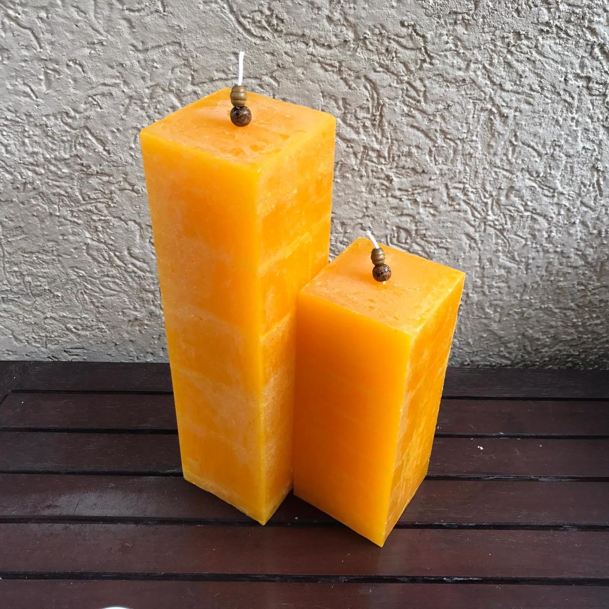 zoom conjunto de velas decorativas