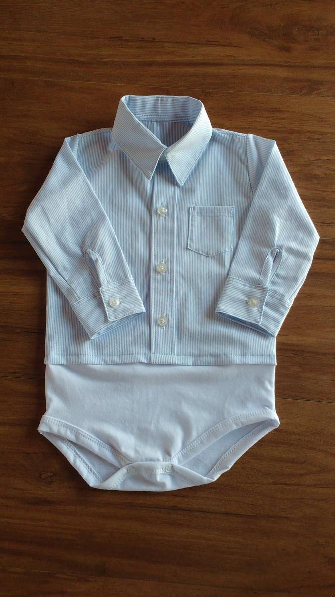 8bbf710c9989c Body Camisa Masculina c  Gola Colarinho no Elo7