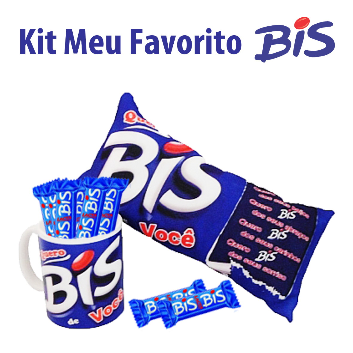 3c802c00fc4 Kit Meu Favorito Baton ou Bis Personalizada no Elo7