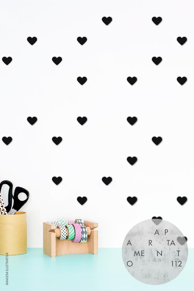 Kit DIY Tumblr Corações (Pequeno)
