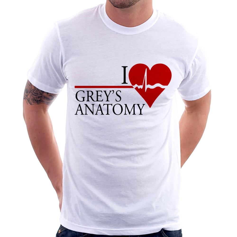 Camiseta I Love Greys Anatomy No Elo7 Foca Na Moda 91a18e