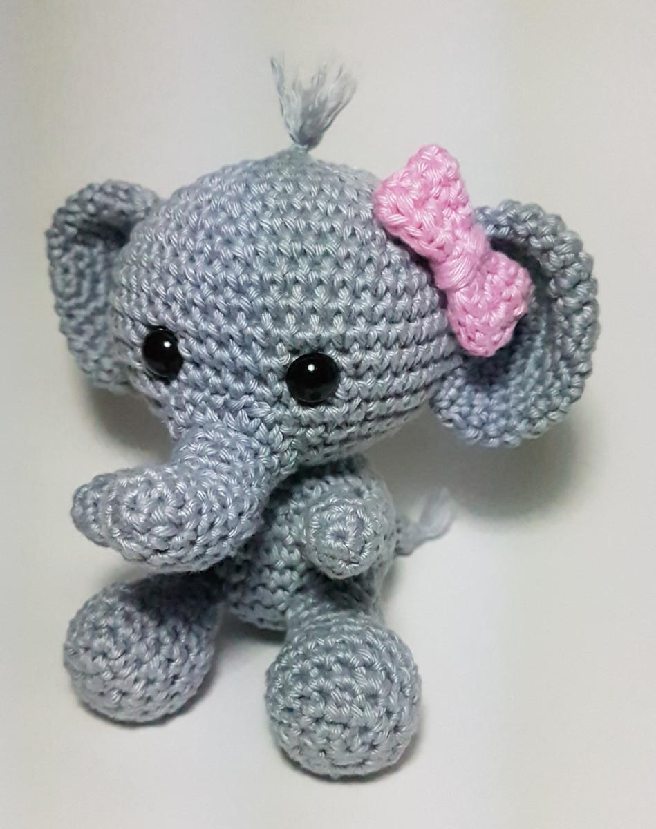 Como fazer elefante em crochê passo a passo amigurumi com receita ... | 1200x949
