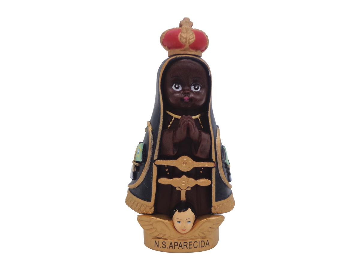 Nossa Senhora Aparecida Mãe Das Crianças: Nossa Senhora Aparecida Infantil 8cm
