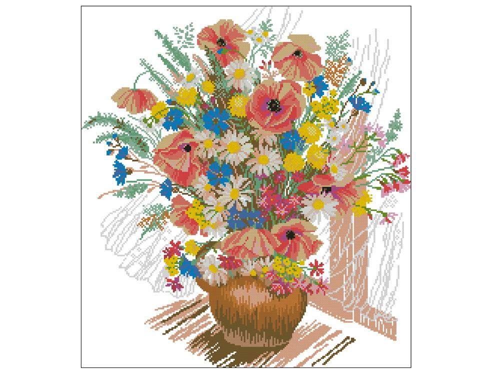 45f003c71 Flores do Campo - Gráfico Ponto Cruz no Elo7 | Thimage - Gráficos de ...
