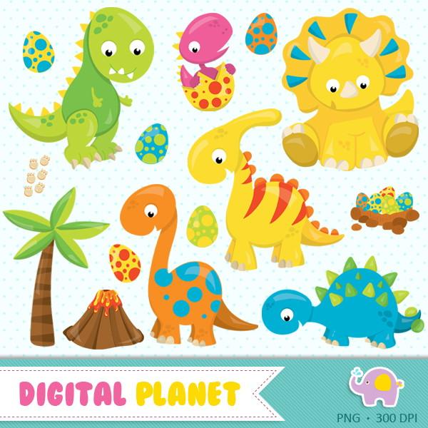 Kit Digital - Dinossauros 5 No Elo7